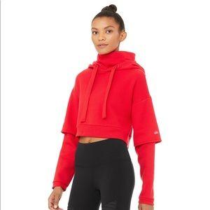 ALO Yoga Scarlet eternal hoodie